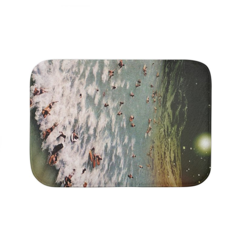 Galactic surf Home Bath Mat by AlmostGone