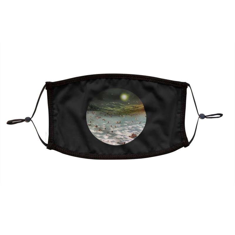Galactic surf Accessories Face Mask by AlmostGone