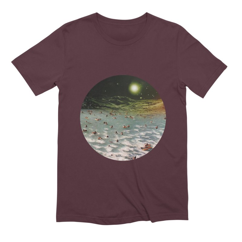 Galactic surf Men's T-Shirt by AlmostGone