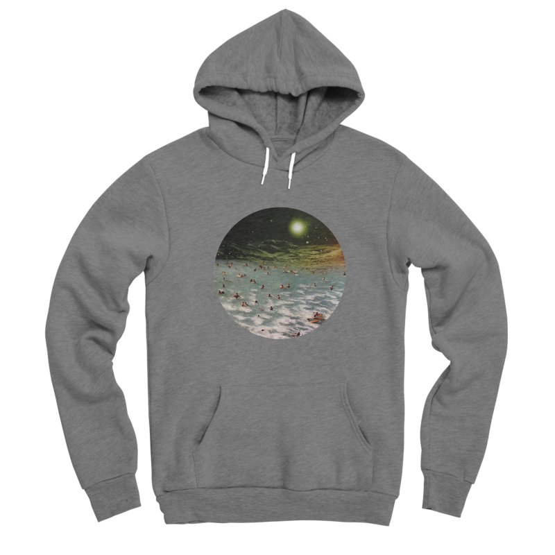 Galactic surf Women's Pullover Hoody by AlmostGone