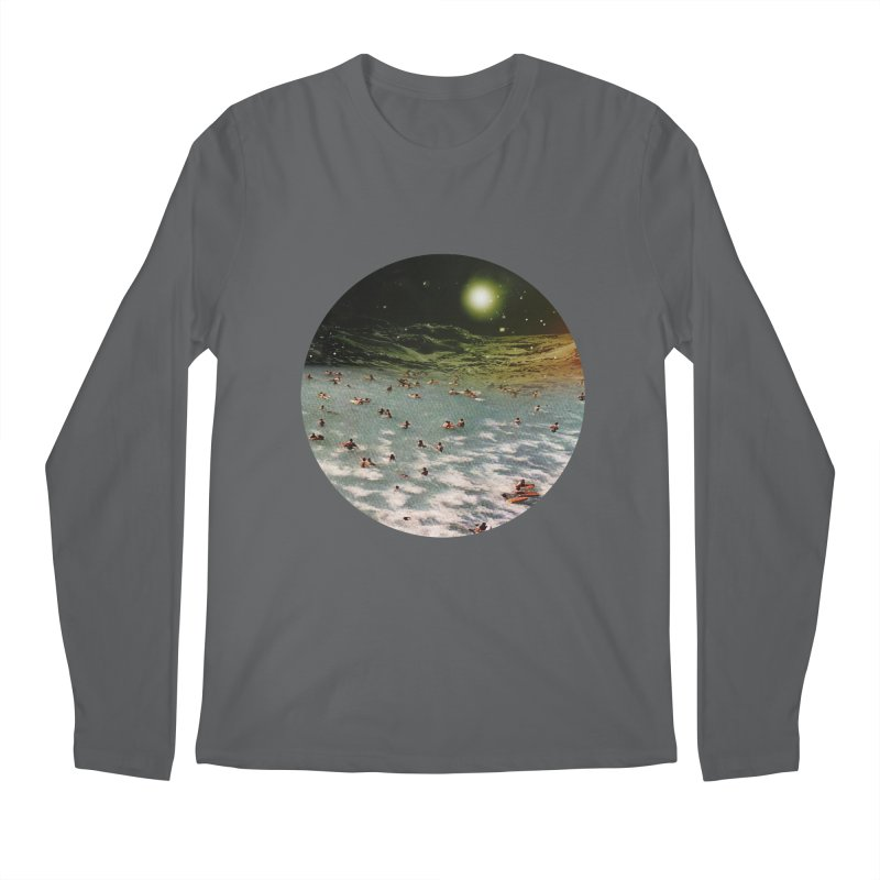 Galactic surf Men's Longsleeve T-Shirt by AlmostGone