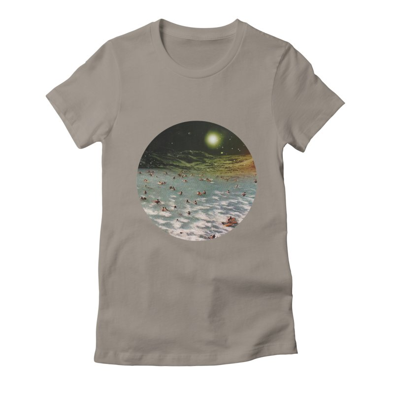 Galactic surf Women's T-Shirt by AlmostGone