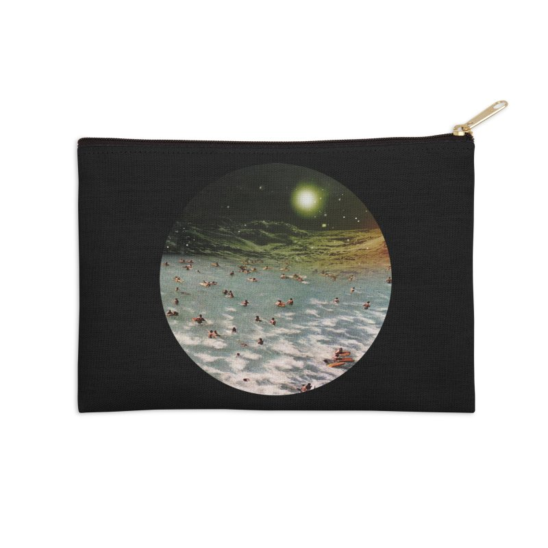 Galactic surf Accessories Zip Pouch by AlmostGone