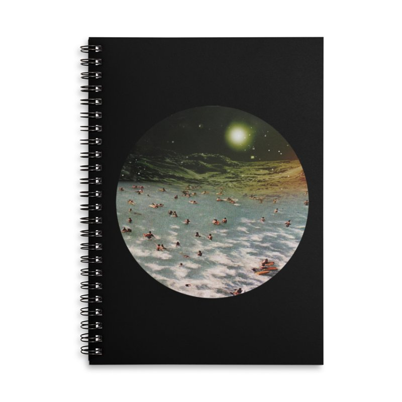 Galactic surf Accessories Notebook by AlmostGone