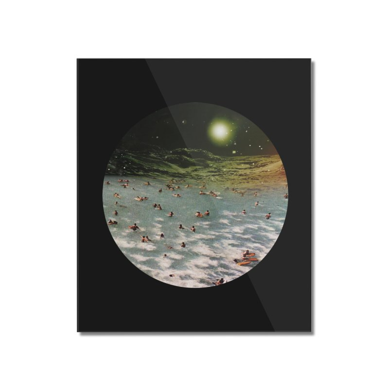 Galactic surf Home Mounted Acrylic Print by AlmostGone