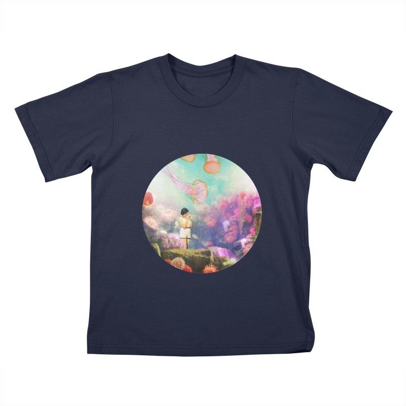 Sea Tourist Kids T-Shirt by AlmostGone