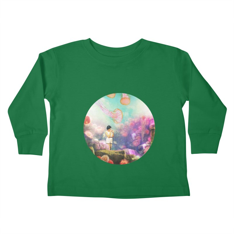 Sea Tourist Kids Toddler Longsleeve T-Shirt by AlmostGone