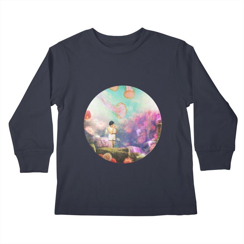 Sea Tourist Kids Longsleeve T-Shirt by AlmostGone