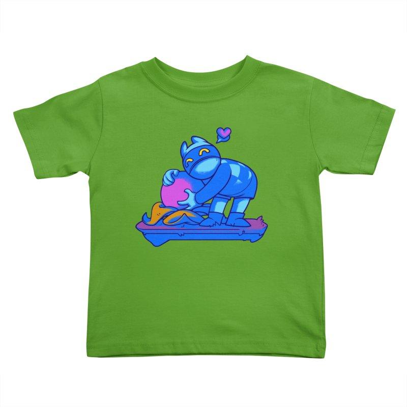 Berry Love Kids Toddler T-Shirt by Liquid Bit Artist Shop