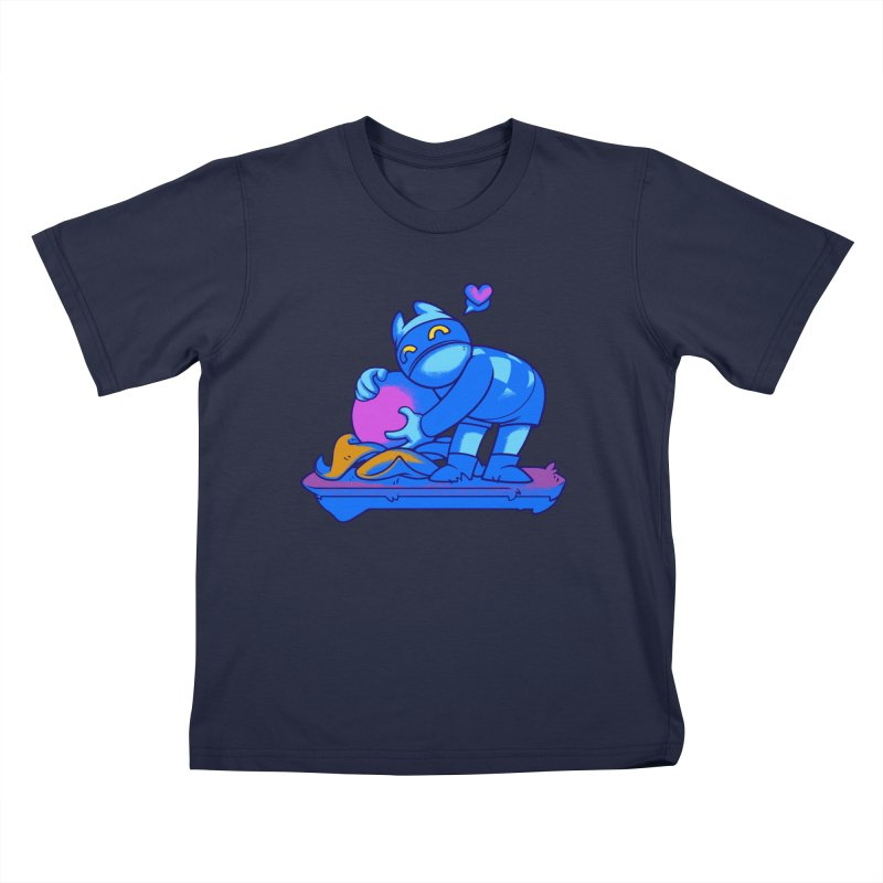 Berry Love Kids T-Shirt by Liquid Bit Artist Shop