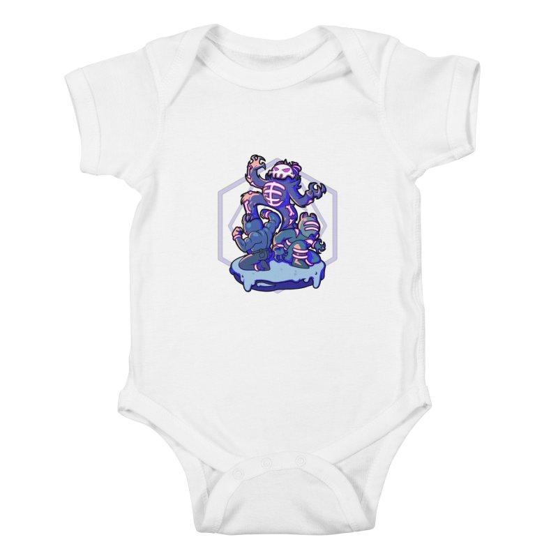 Trouble Makers Kids Baby Bodysuit by Liquid Bit Artist Shop