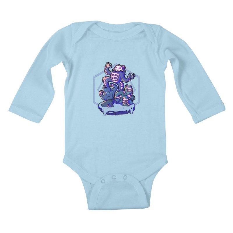 Trouble Makers Kids Baby Longsleeve Bodysuit by Liquid Bit Artist Shop