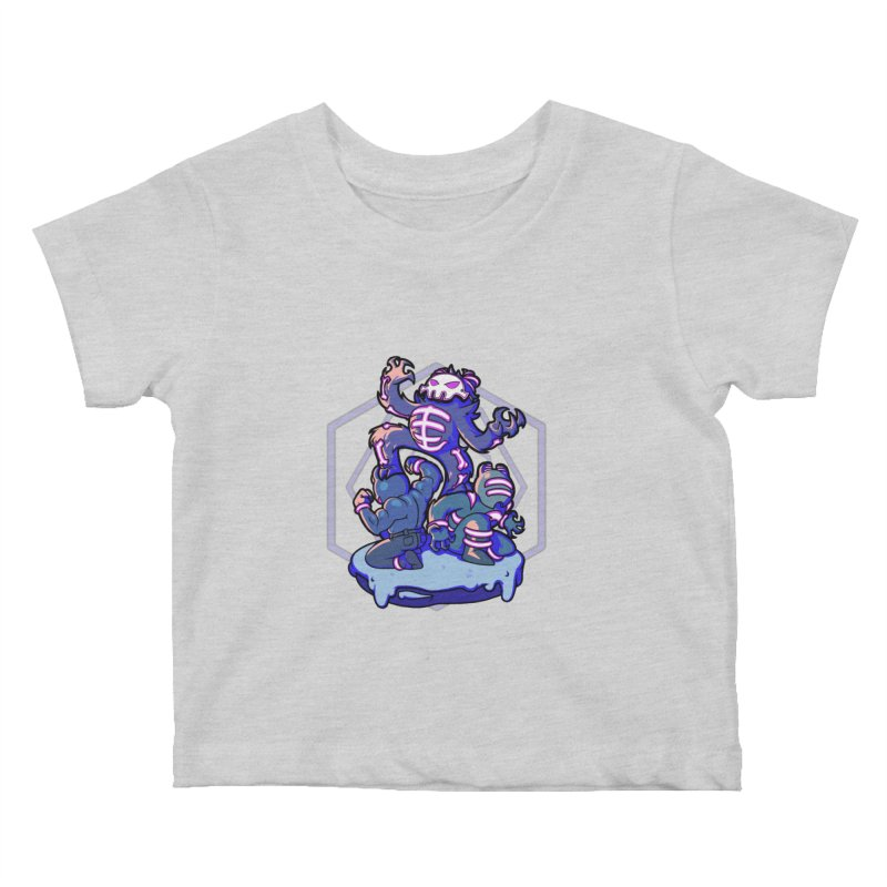 Trouble Makers Kids Baby T-Shirt by Liquid Bit Artist Shop