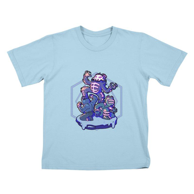 Trouble Makers Kids T-Shirt by Liquid Bit Artist Shop