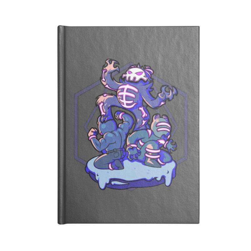 Trouble Makers Accessories Notebook by Liquid Bit Artist Shop