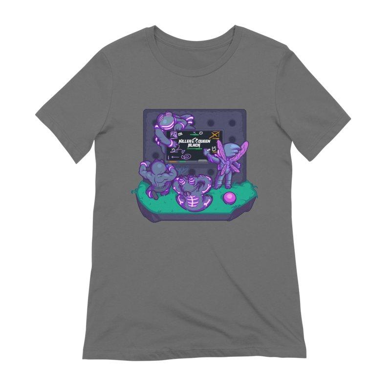 Game plan Women's T-Shirt by Liquid Bit Artist Shop