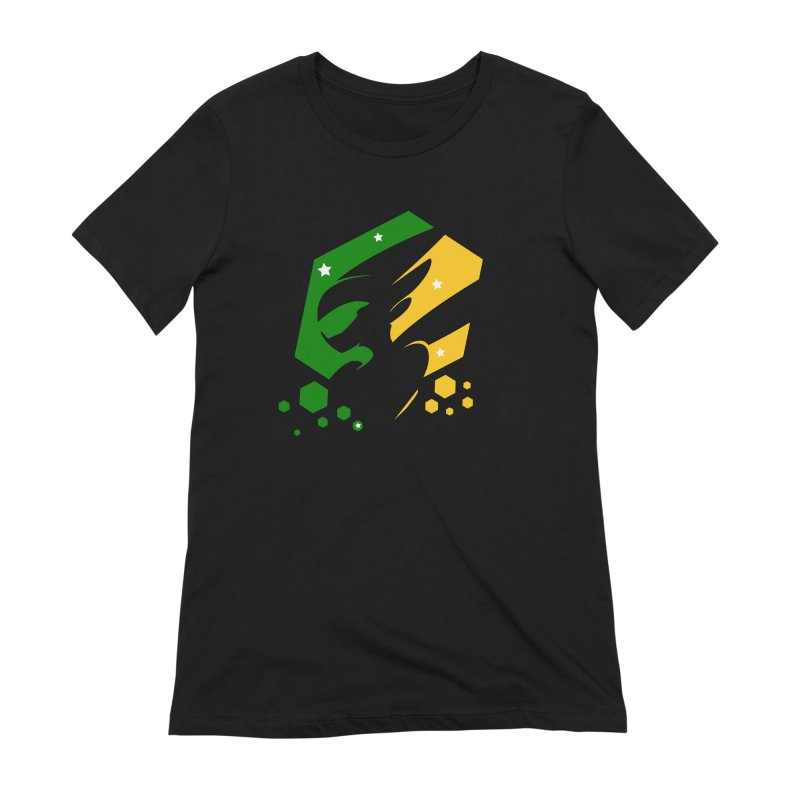 KQB Logo: Brazil Women's T-Shirt by Liquid Bit Artist Shop
