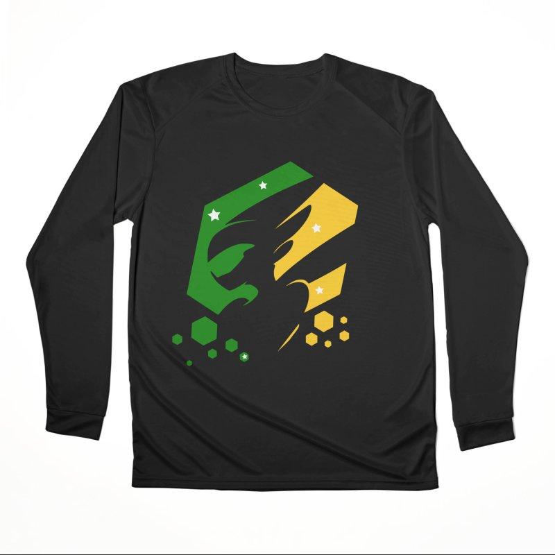 KQB Logo: Brazil Men's Longsleeve T-Shirt by Liquid Bit Artist Shop