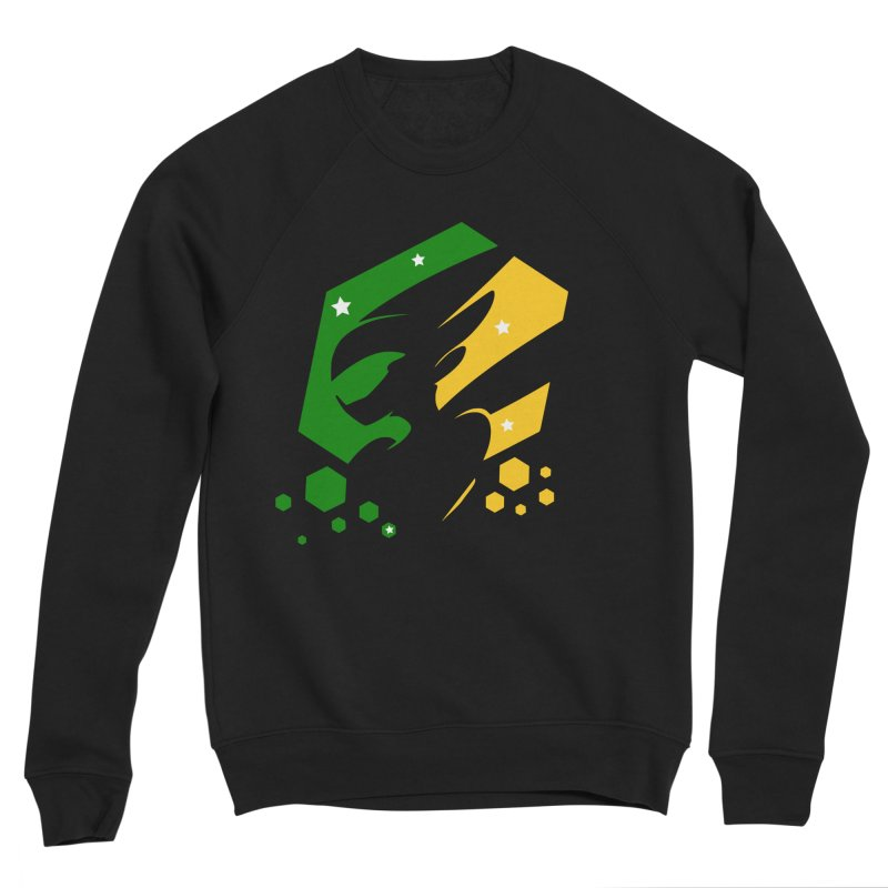 KQB Logo: Brazil Men's Sweatshirt by Liquid Bit Artist Shop