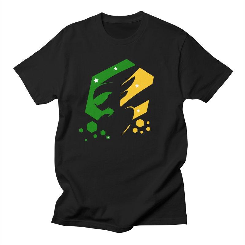 KQB Logo: Brazil Men's T-Shirt by Liquid Bit Artist Shop