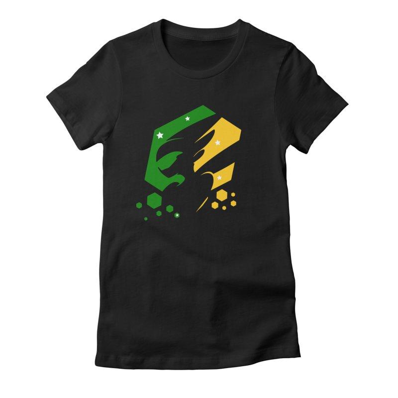 KQB Logo: Brazil Women's T-Shirt by Liquid Bit Artist Shop