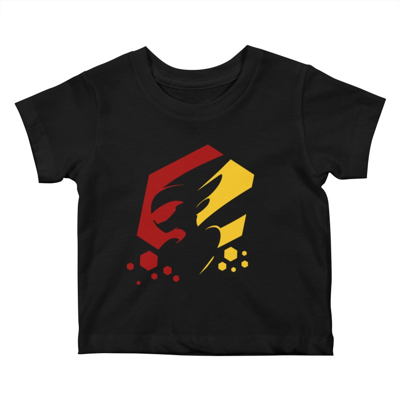 KQB Logo: Germany Kids Baby T-Shirt by Liquid Bit Artist Shop
