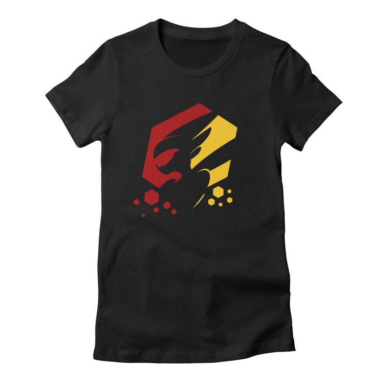 KQB Logo: Germany Women's T-Shirt by Liquid Bit Artist Shop