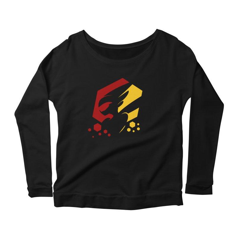 KQB Logo: Germany Women's Longsleeve T-Shirt by Liquid Bit Artist Shop
