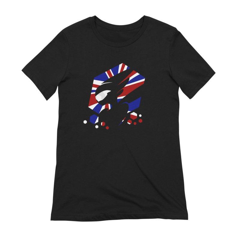 KQB Logo: UK Women's T-Shirt by Liquid Bit Artist Shop