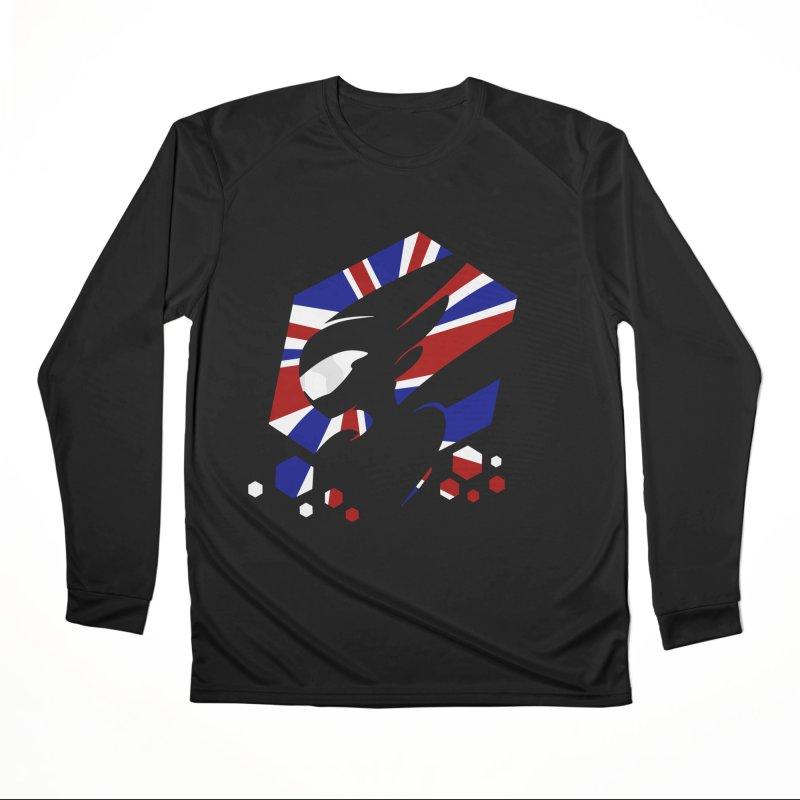 KQB Logo: UK Women's Longsleeve T-Shirt by Liquid Bit Artist Shop