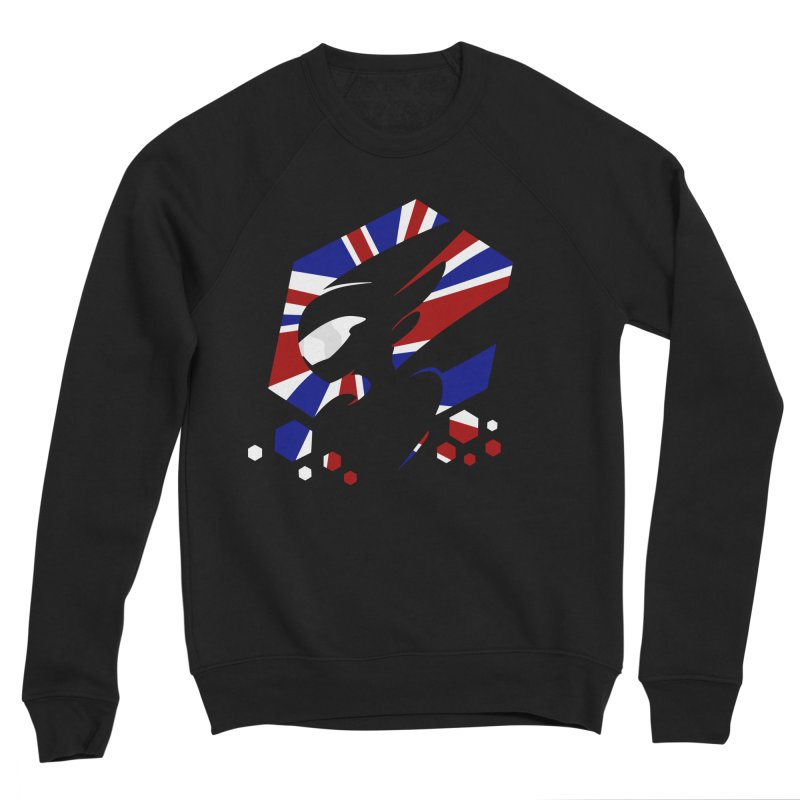 KQB Logo: UK Men's Sweatshirt by Liquid Bit Artist Shop