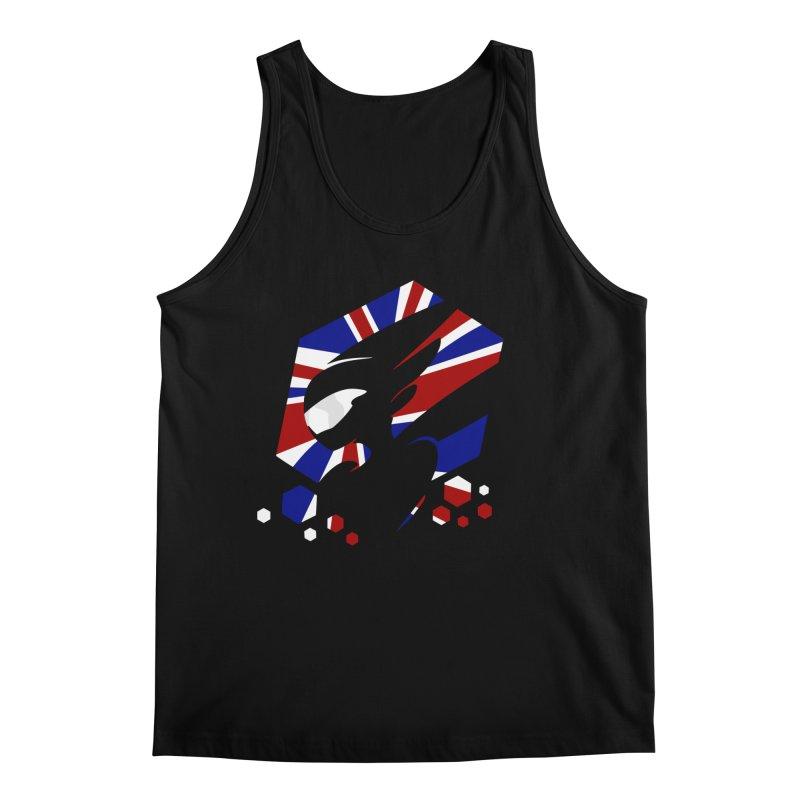KQB Logo: UK Men's Tank by Liquid Bit Artist Shop