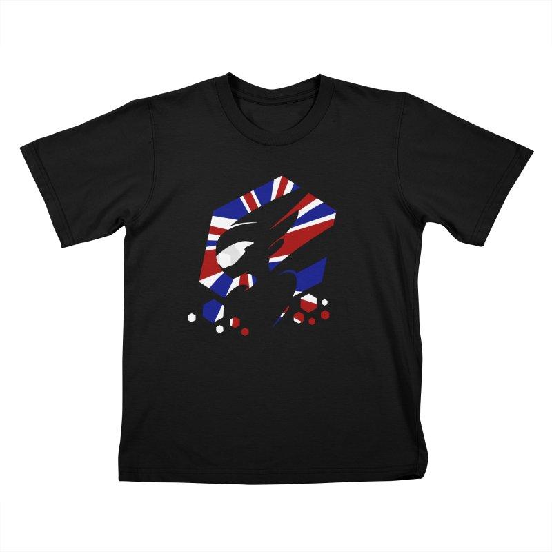 KQB Logo: UK Kids T-Shirt by Liquid Bit Artist Shop