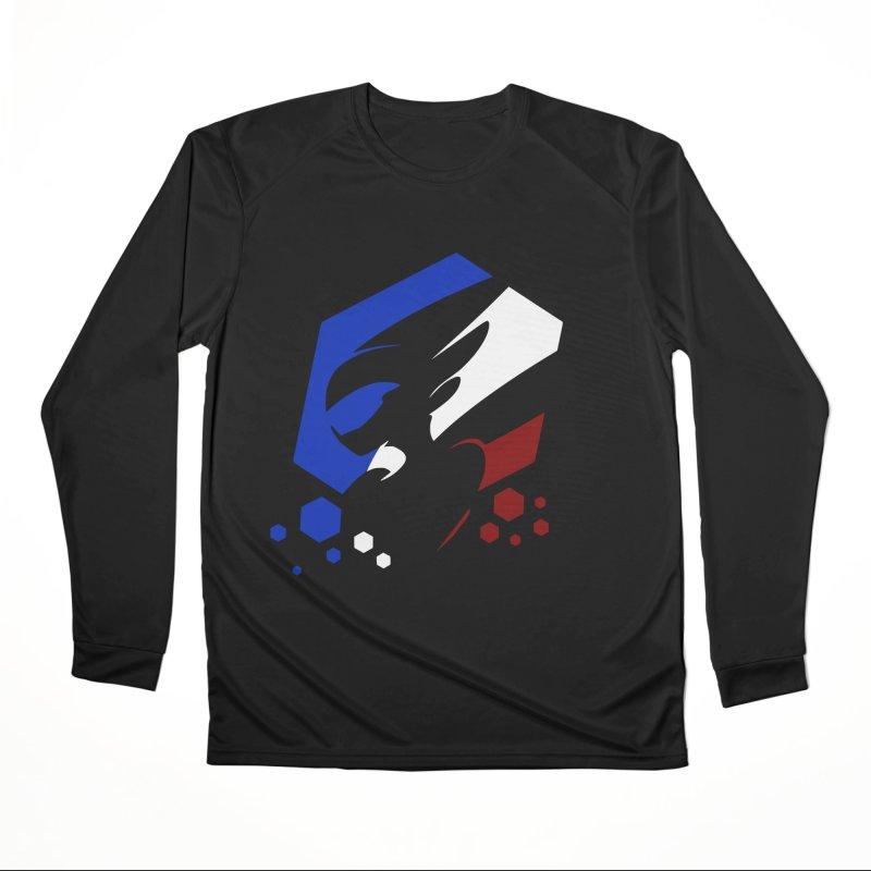 KQB Logo: France Men's Longsleeve T-Shirt by Liquid Bit Artist Shop