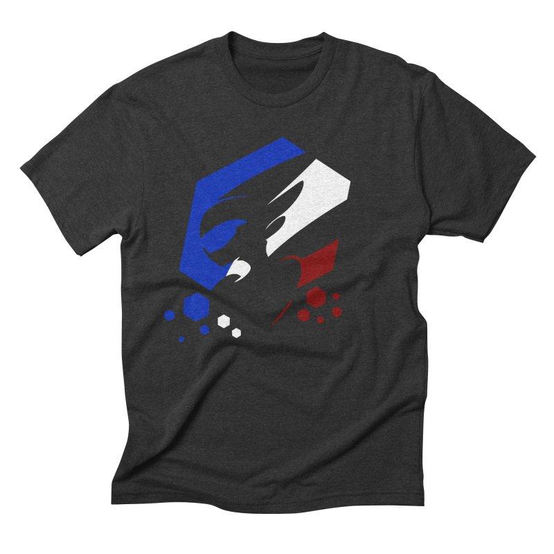 KQB Logo: France Men's T-Shirt by Liquid Bit Artist Shop