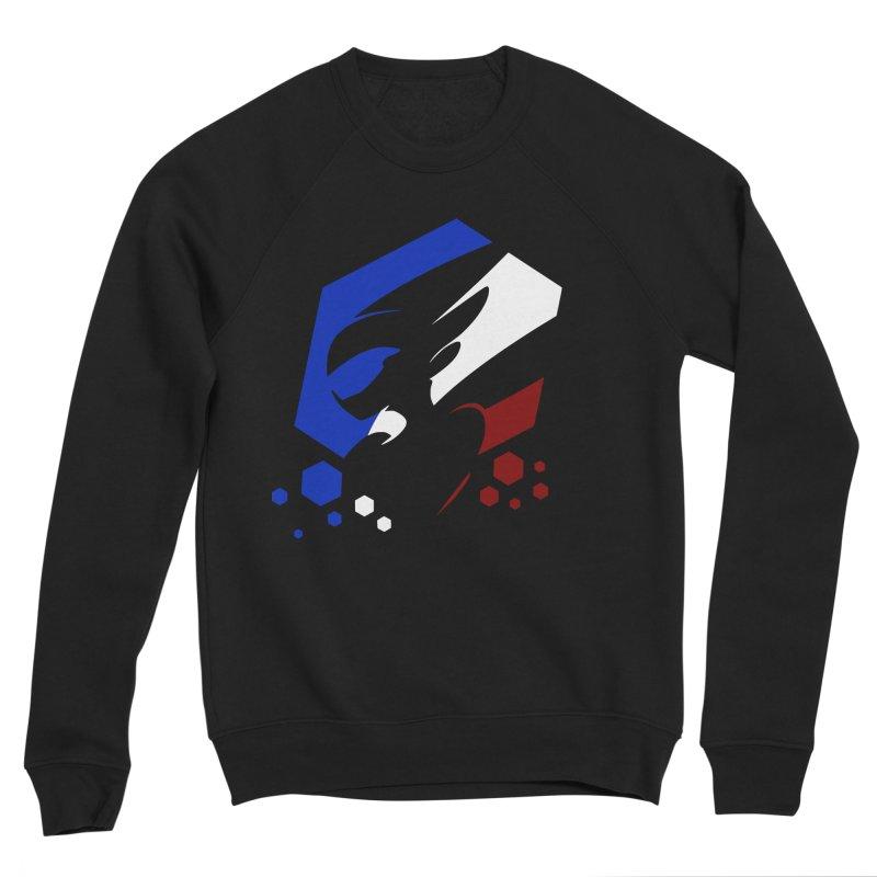 KQB Logo: France Men's Sweatshirt by Liquid Bit Artist Shop
