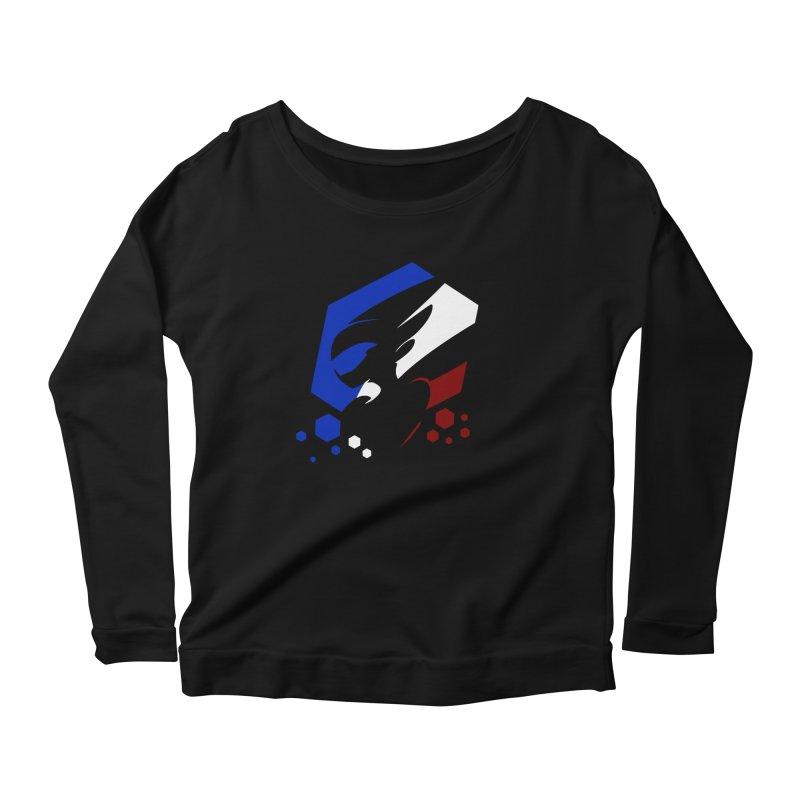 KQB Logo: France Women's Longsleeve T-Shirt by Liquid Bit Artist Shop