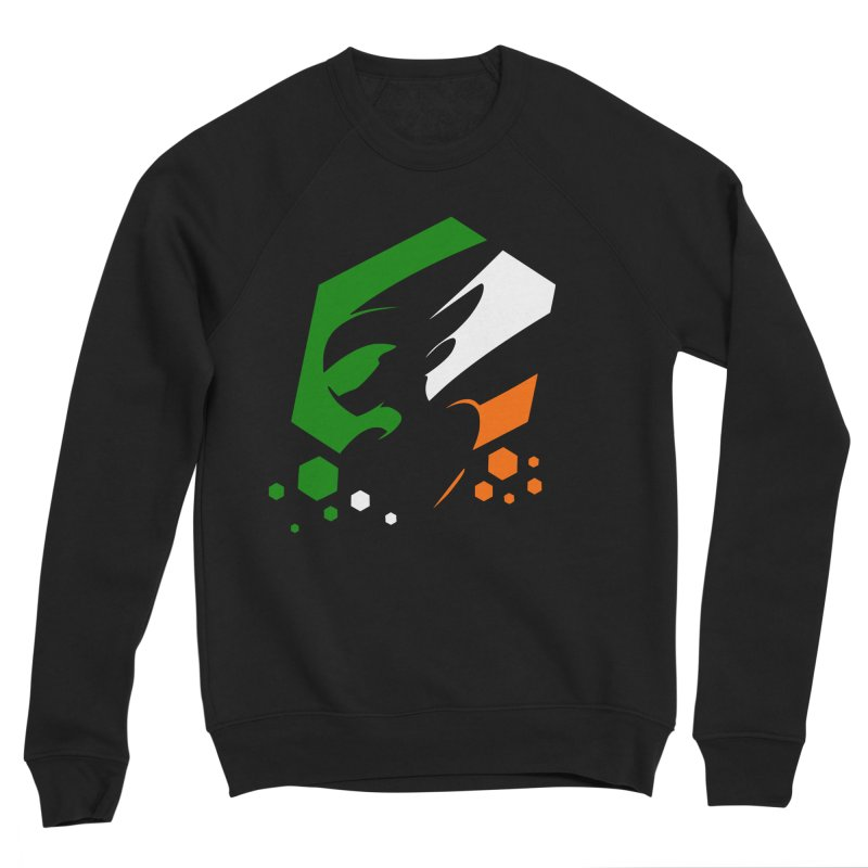 KQB Logo: Ireland Men's Sweatshirt by Liquid Bit Artist Shop