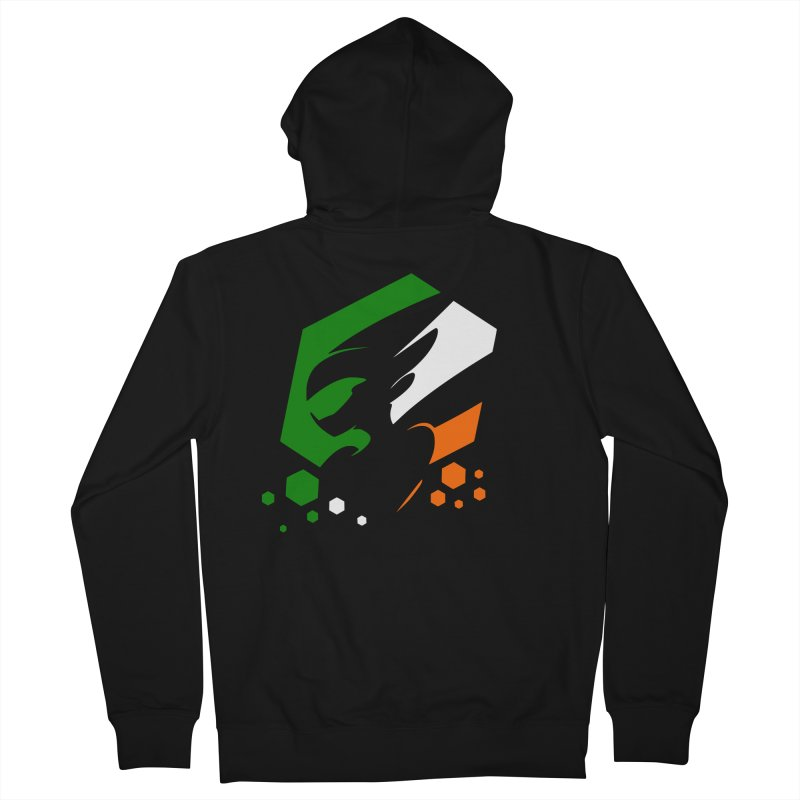 KQB Logo: Ireland Women's Zip-Up Hoody by Liquid Bit Artist Shop
