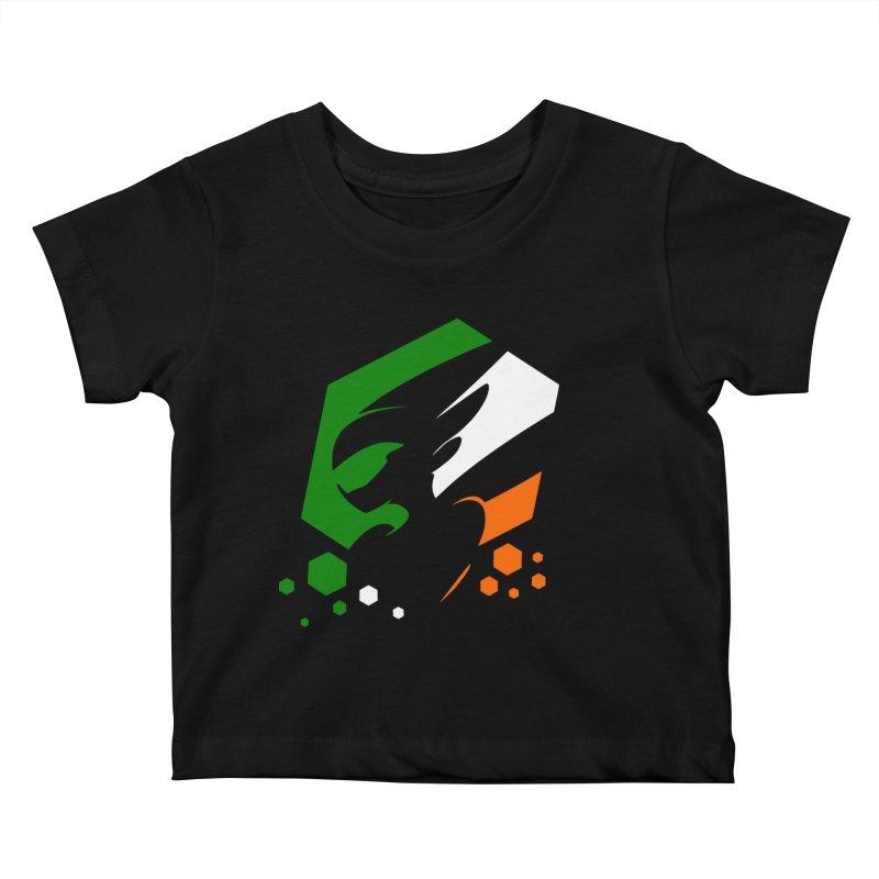 KQB Logo: Ireland Kids Baby T-Shirt by Liquid Bit Artist Shop
