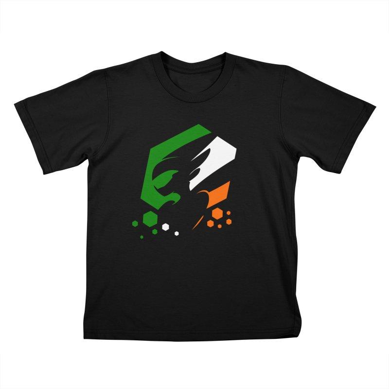 KQB Logo: Ireland Kids T-Shirt by Liquid Bit Artist Shop