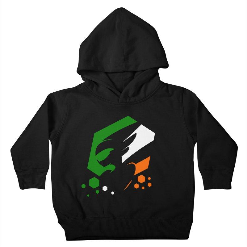 KQB Logo: Ireland Kids Toddler Pullover Hoody by Liquid Bit Artist Shop
