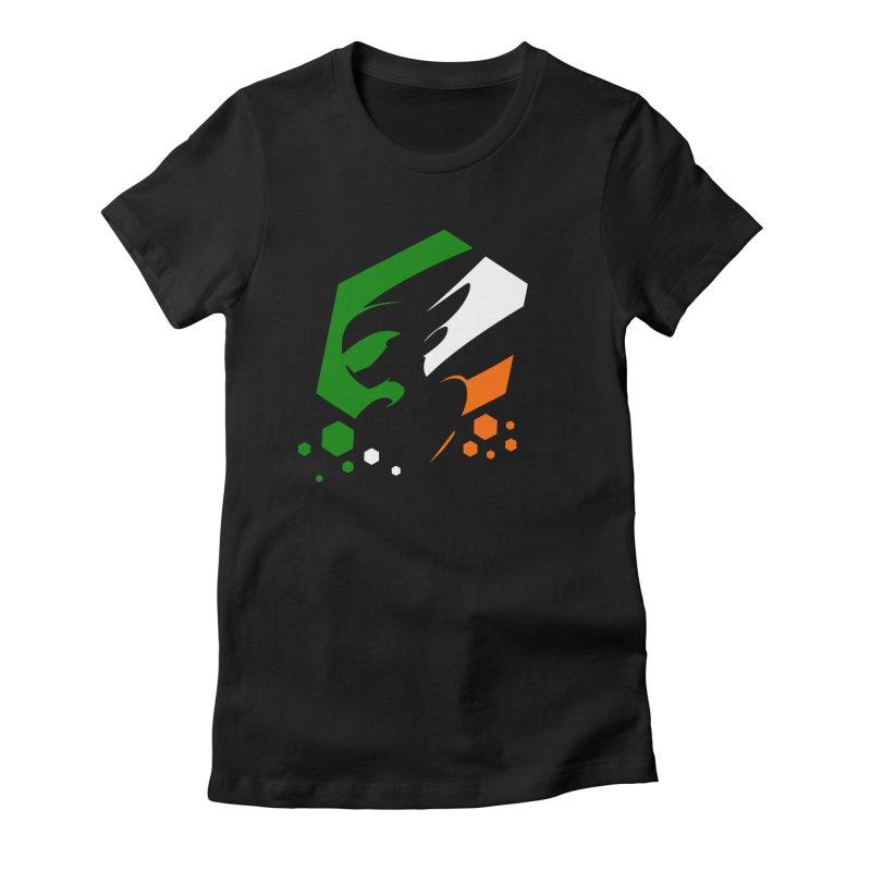 KQB Logo: Ireland Women's T-Shirt by Liquid Bit Artist Shop