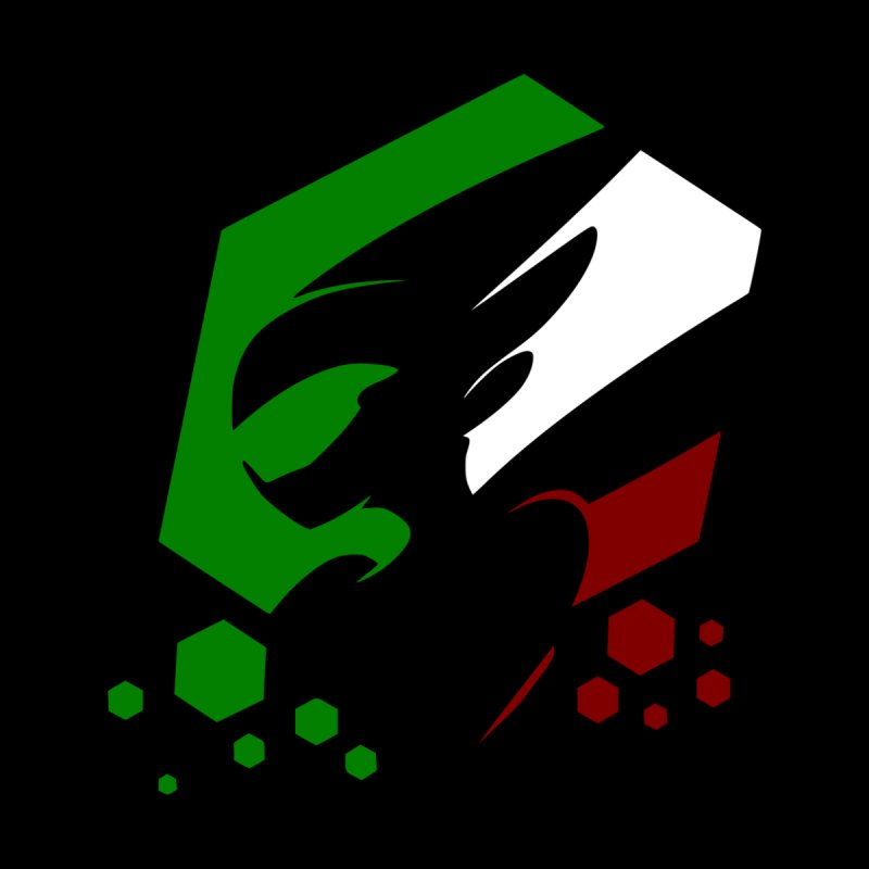 KQB Logo: Italy Men's T-Shirt by Liquid Bit Artist Shop