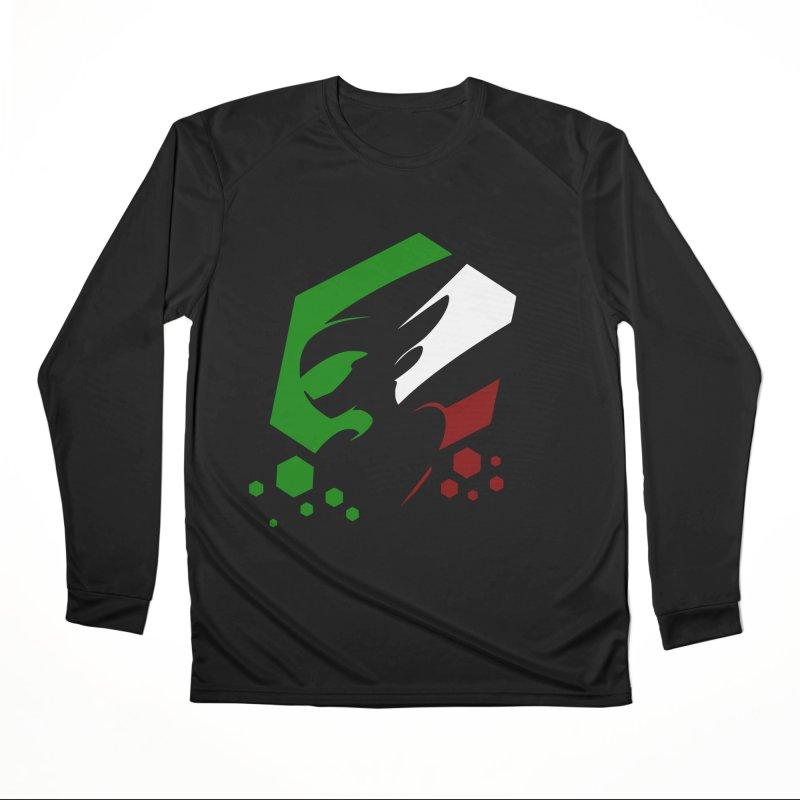 KQB Logo: Italy Men's Longsleeve T-Shirt by Liquid Bit Artist Shop