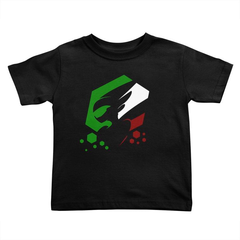 KQB Logo: Italy Kids Toddler T-Shirt by Liquid Bit Artist Shop