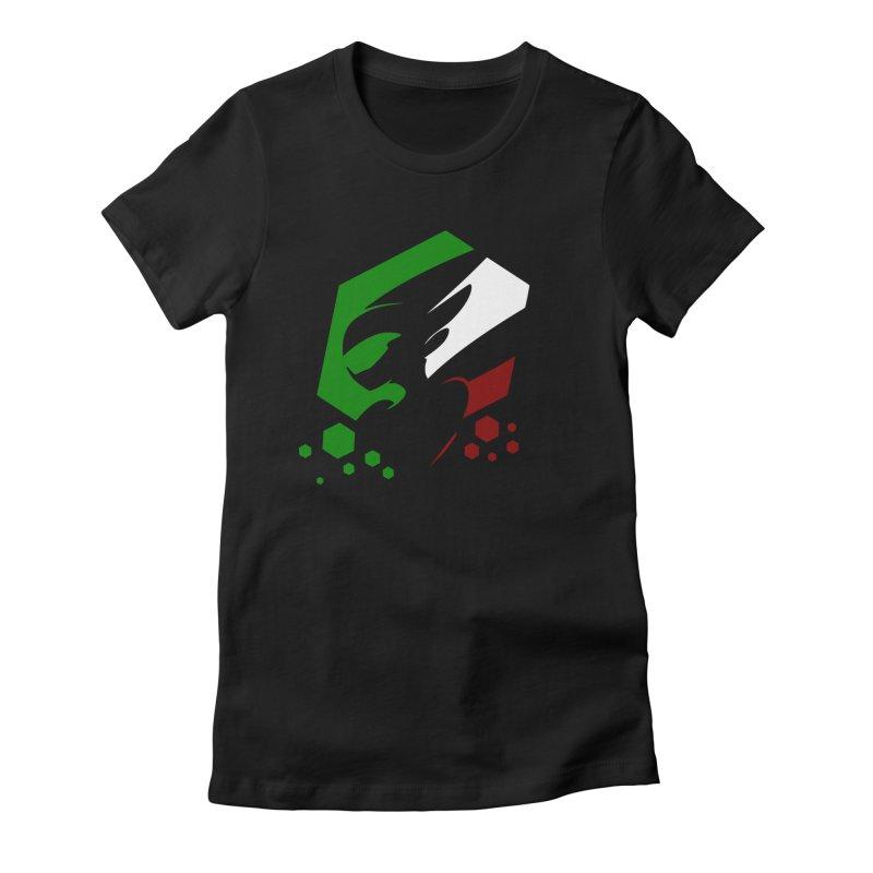 KQB Logo: Italy Women's T-Shirt by Liquid Bit Artist Shop