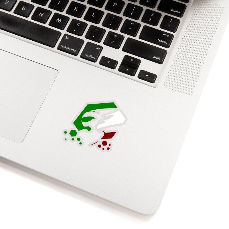 KQB Logo: Italy Accessories Sticker by Liquid Bit Artist Shop