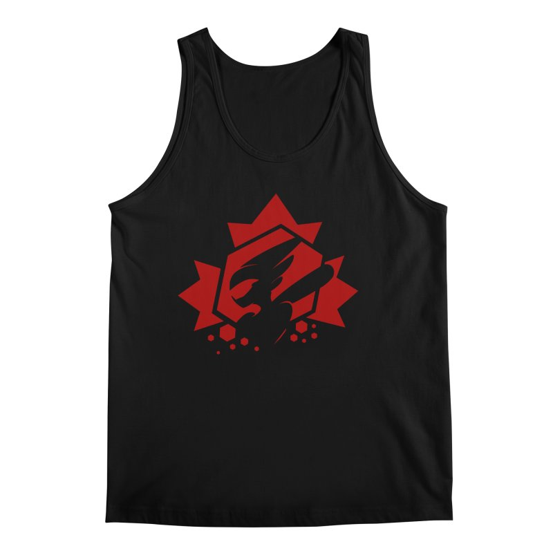 KQB Logo: Canada Men's Tank by Liquid Bit Artist Shop