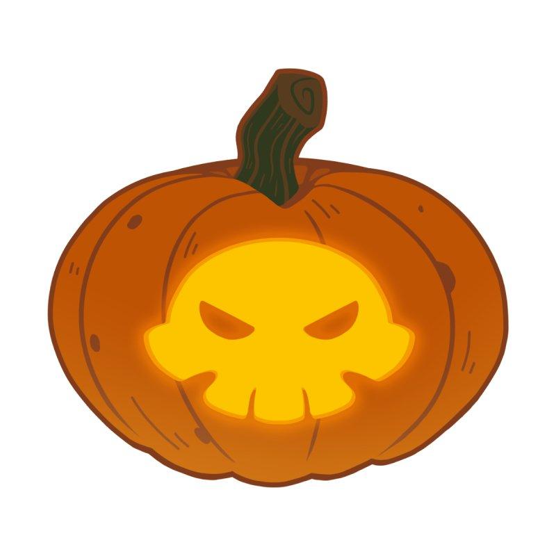 Pumpkin Skull Accessories Notebook by Liquid Bit Artist Shop